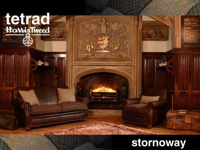 robinson and leather sofa simmons upholstery mover hide a bed convertible tetrad harris tweed stornoway chair